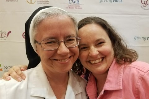 Giving Voice participants Sister Angela & Sister Sarah