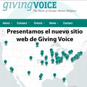 Presentamos el nuevo sitio web de Giving Voice y el nuevo portal solo para las hermanas