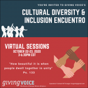 Cultural Diversity and Inclusion Encuentro to be Virtual Meeting