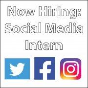 Now Hiring Social Media Intern